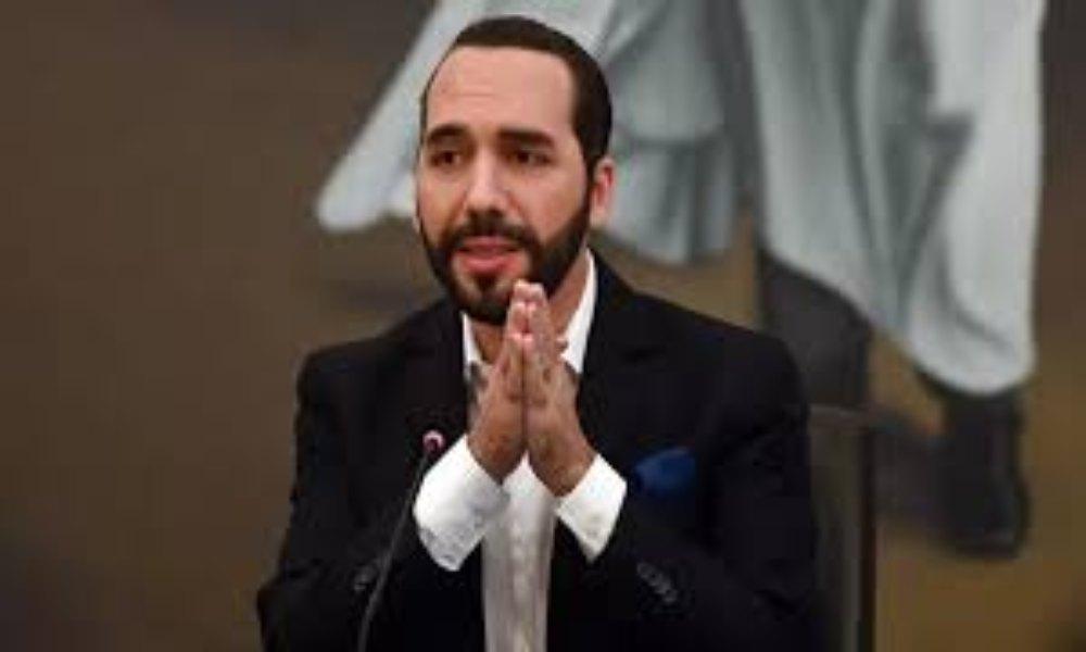 Bukele  promete no retroceder al sistema de corrupción  «mientras Dios le de  fuerza»