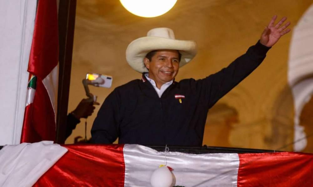 Conteo total de los votos indica la victoria de Pedro Castillo en las elecciones de Perú
