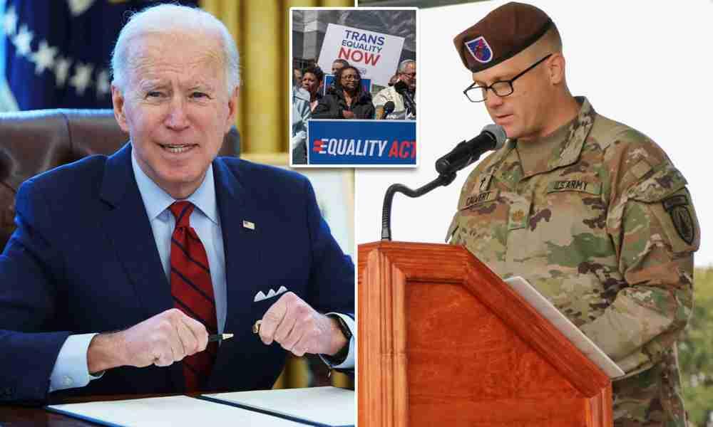 Ejército no castigará a capellán que criticó política transgénero de Biden