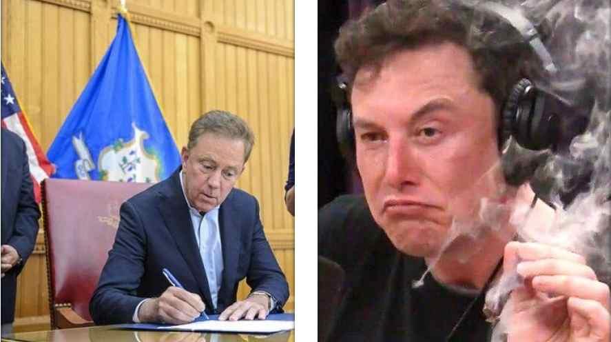 Gobernador de Connecticut, aprueba consumo recreativo de marihuana