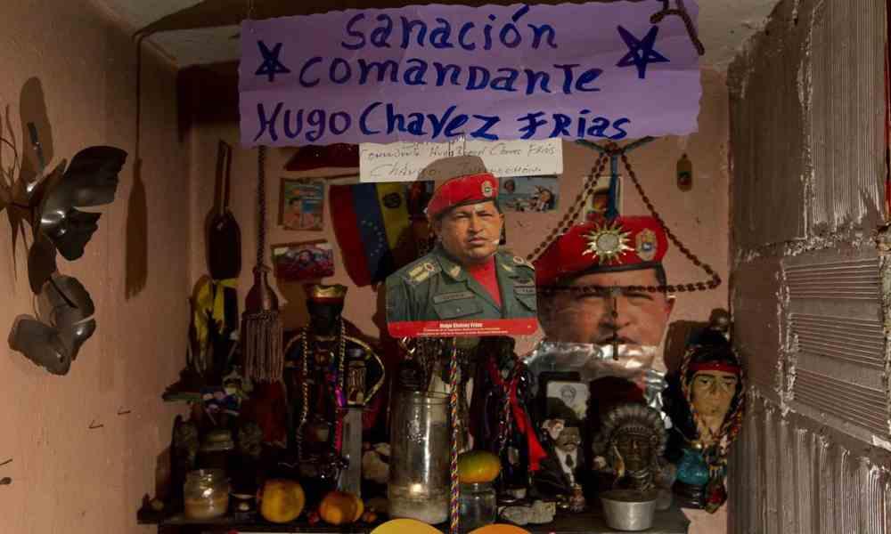Gobierno venezolano apoyará actividades que hacen culto al espiritismo