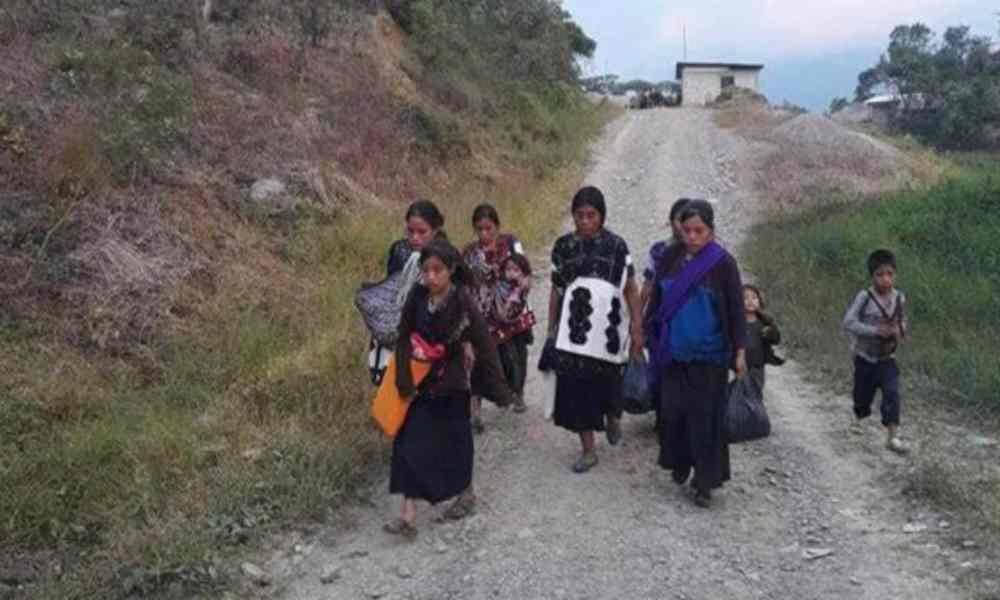 Indígenas católicos destruyeron cinco casas de evangélicos en México