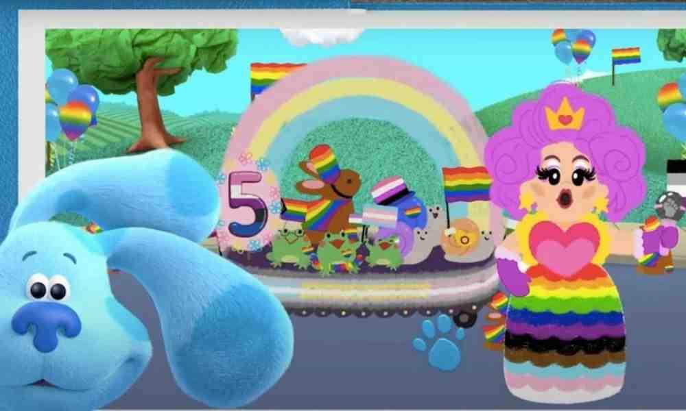 Nickelodeon muestra a drag queen realizando desfile LGBT en Pistas de Blue y tú