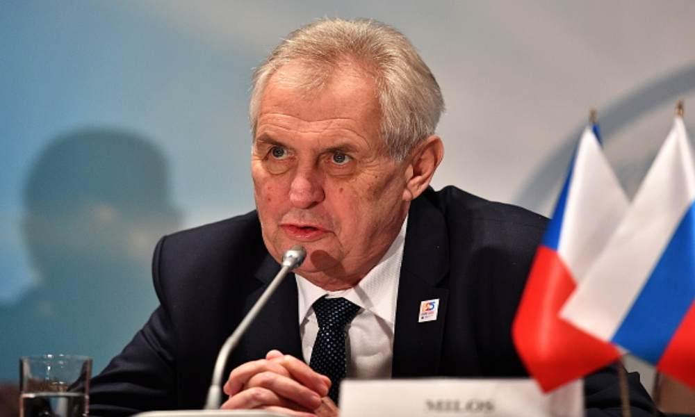 """Presidente de República Checa asegura que los transexuales son """"repugnantes"""""""