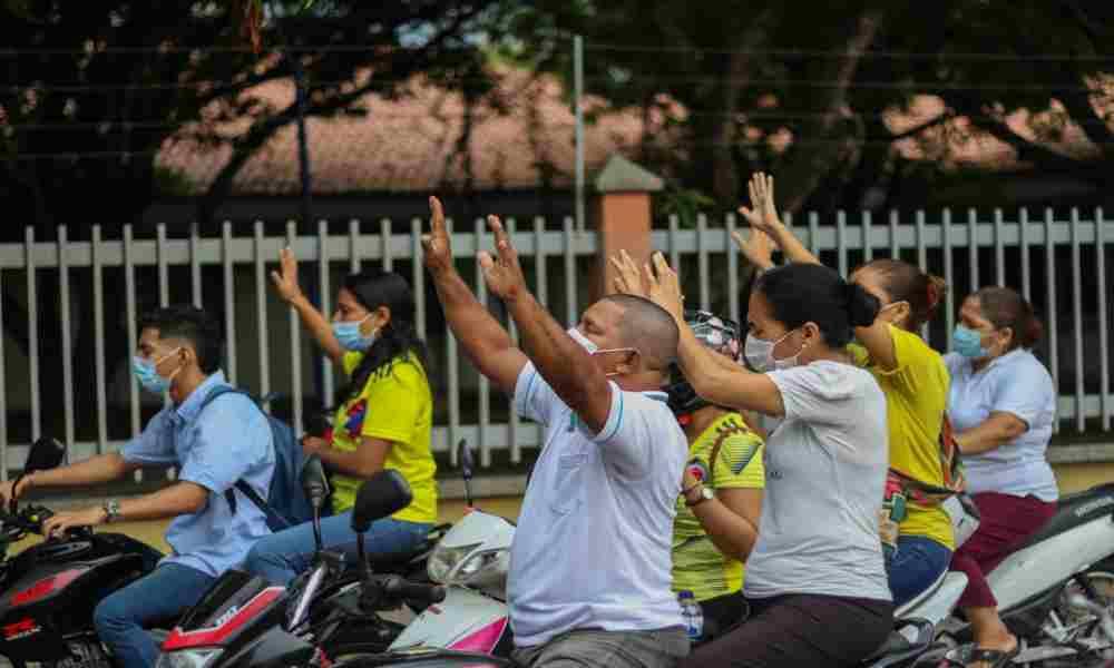 Caravana de Oración por la salud de enfermos y la paz en Colombia
