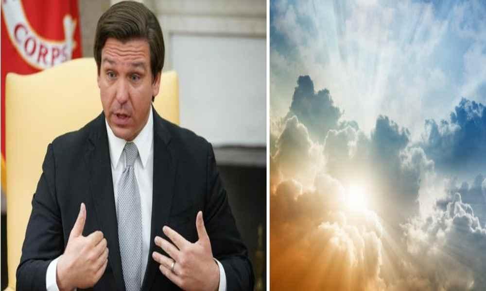 Gobernador dice que se pondrá la 'armadura completa de Dios'