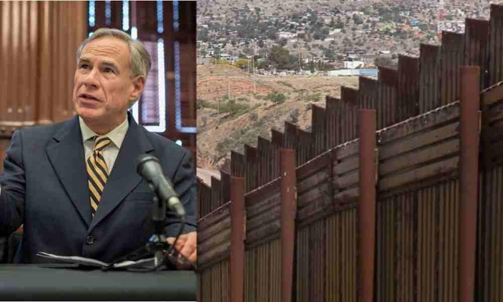 Gobernador  planea seguir construcción del muro entre Texas y México