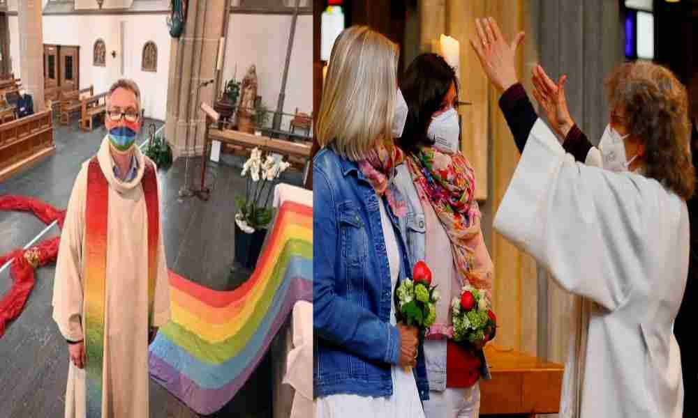 Iglesias en Alemania bendicen la unión entre parejas del mismo sexo