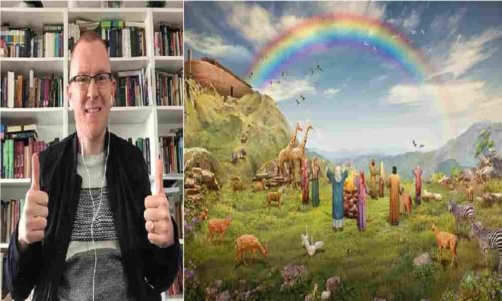 """Will Graham: """"Muchas gracias a Facebook por el homenaje al arcoíris de Noé"""""""