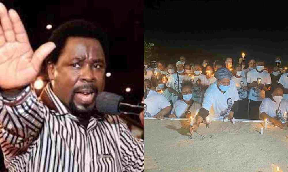 Afirman que personas vomitaron en el funeral de TB Joshua por manifestación del Espíritu Santo