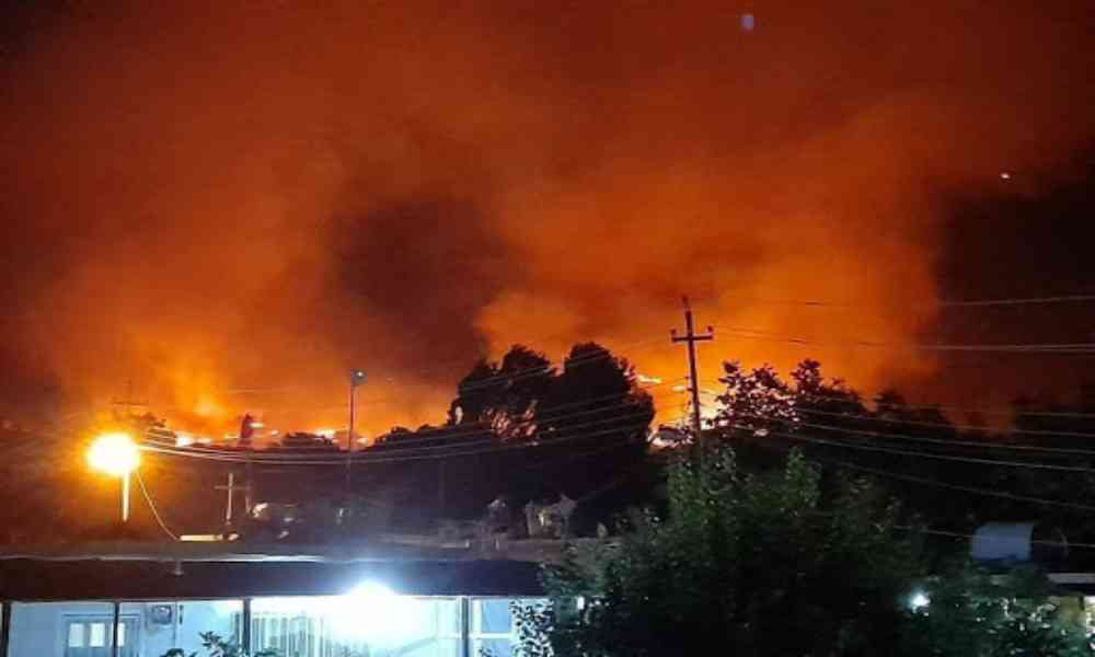 Ataques aéreos turcos queman aldeas cristianas al norte de Irak