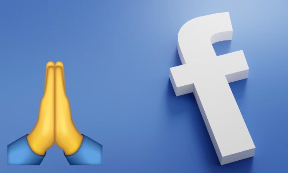 Facebook lanza nueva función de mensaje de oración
