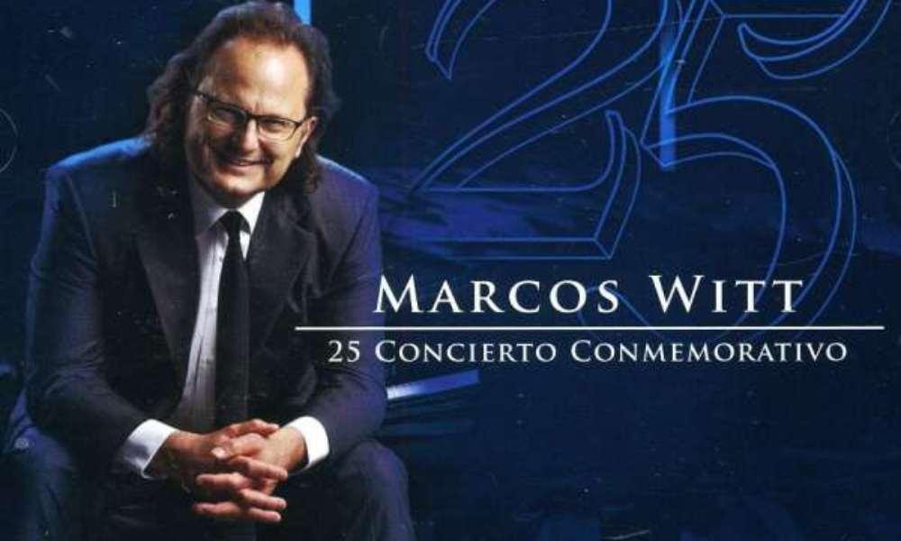 Marcos Witt agradece a Dios por el 10°aniversario de su álbum Concierto Conmemorativo
