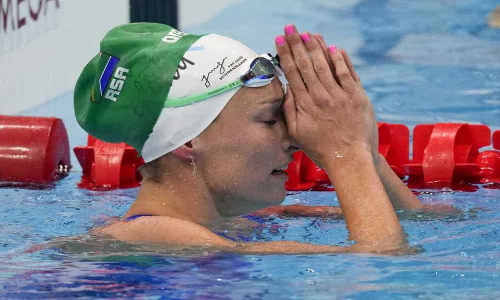 Nadadora sudafricana batió récord olímpico y le dio la gloria a Dios