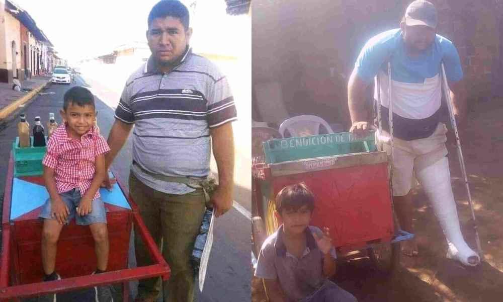 Nicaragua: Predicador impactado por un vehículo necesita ayuda económica