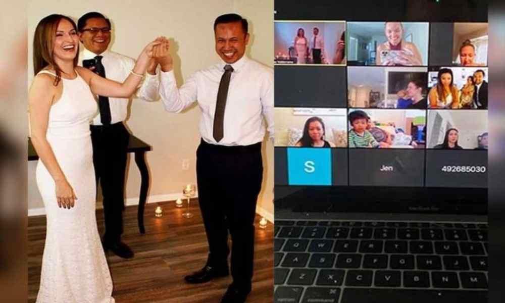 Nueva York prohíbe las bodas a través de Zoom