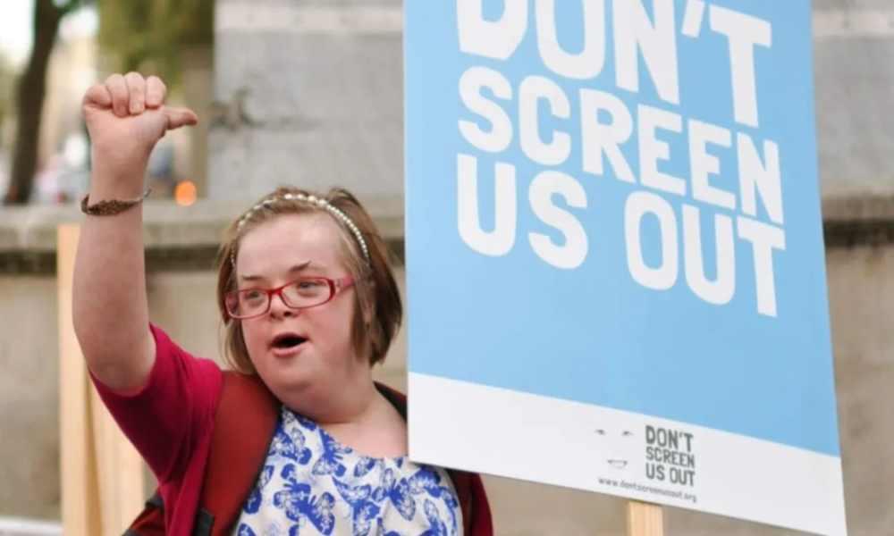 Activista provida con síndrome de Down lucha contra el aborto