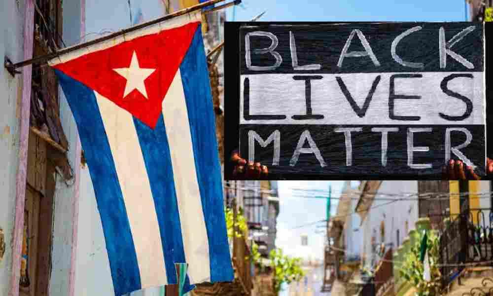 Black Lives Matter muestra su apoyo al gobierno comunista de Cuba