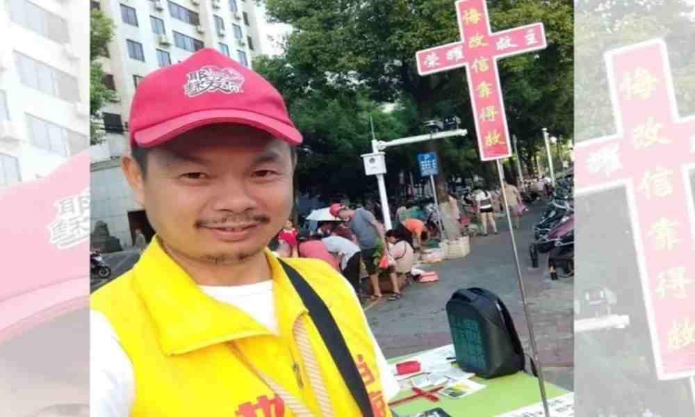 Cristiano arrestado por predicar el Evangelio en las calles de China