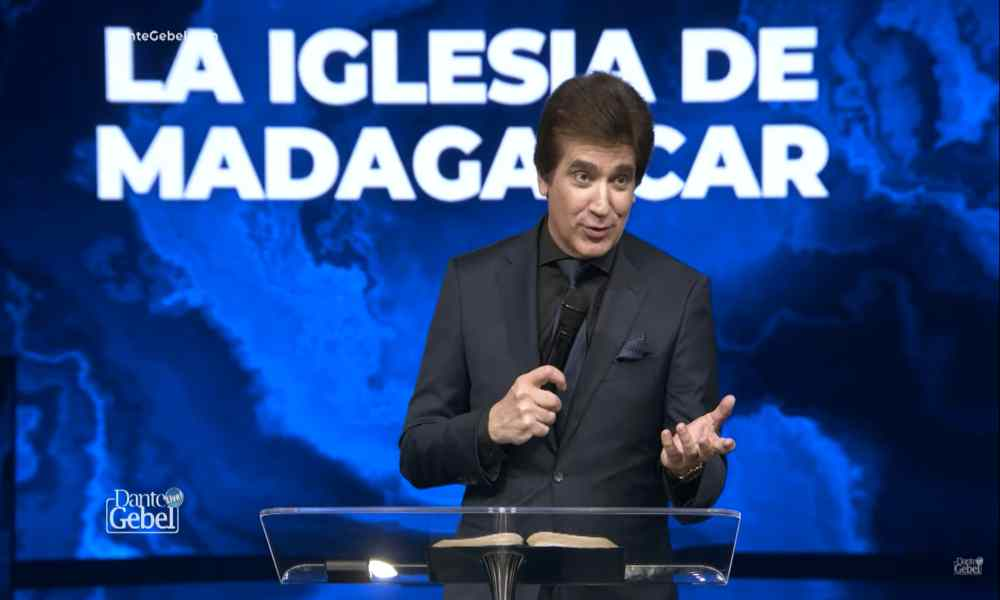 "Dante Gebel impacta a miles con su prédica ""La Iglesia de Madagascar"""