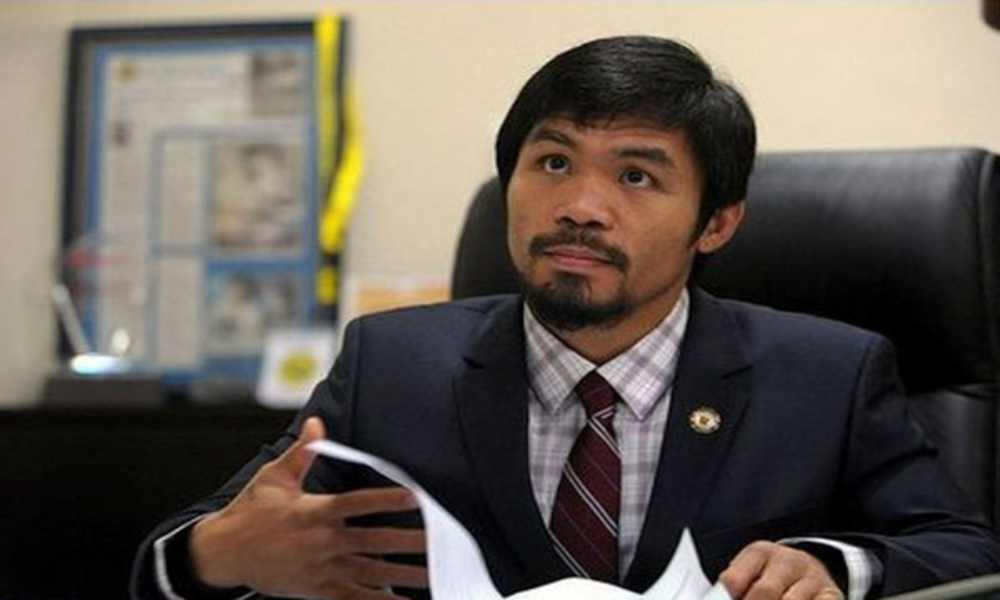 El boxeador cristiano Pacquiao posible candidato a presidente de Filipinas