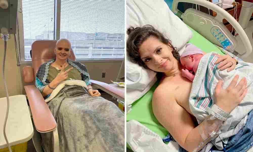 Le dijeron que nunca sería madre por el cáncer, pero Dios hizo el milagro