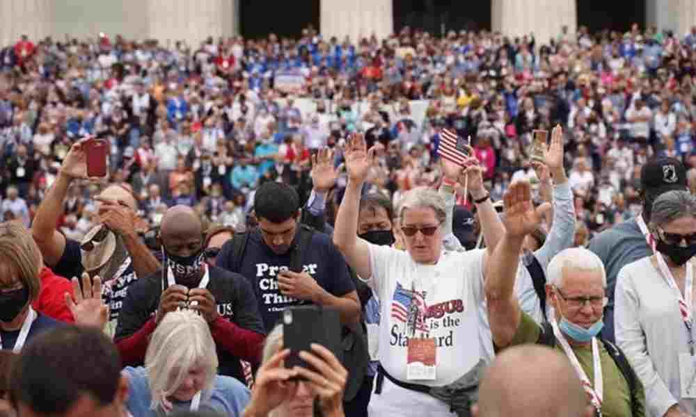 EEUU: Miles de cristianos salen a las calles para pedir un avivamiento