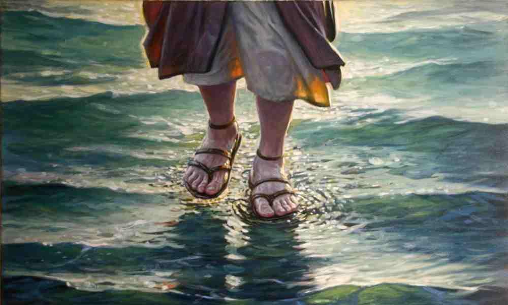 ¿Por qué Jesús caminó sobre el agua según la Biblia?