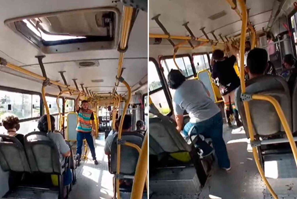 Abofetean a cristiano por predicar de Cristo en un bus