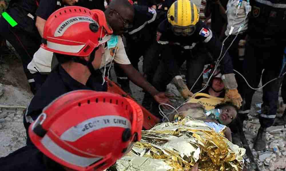 Milagro: Rescatan a 24 personas tras una semana del terremoto de Haití