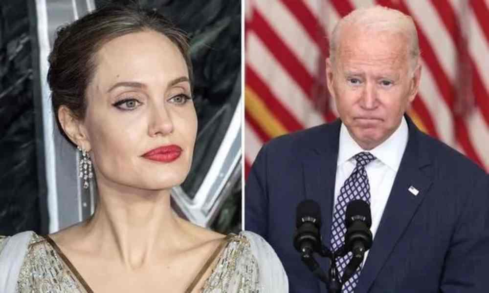 Angelina Jolie dice estar avergonzada del fracaso de Biden en Afganistán
