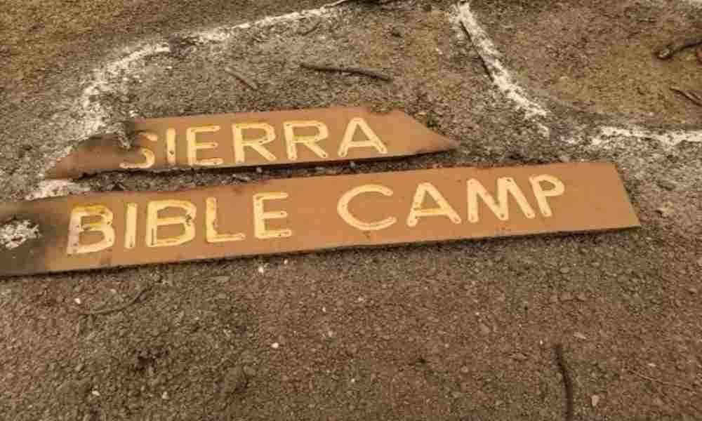 Campamento cristiano es destruido por incendio en California