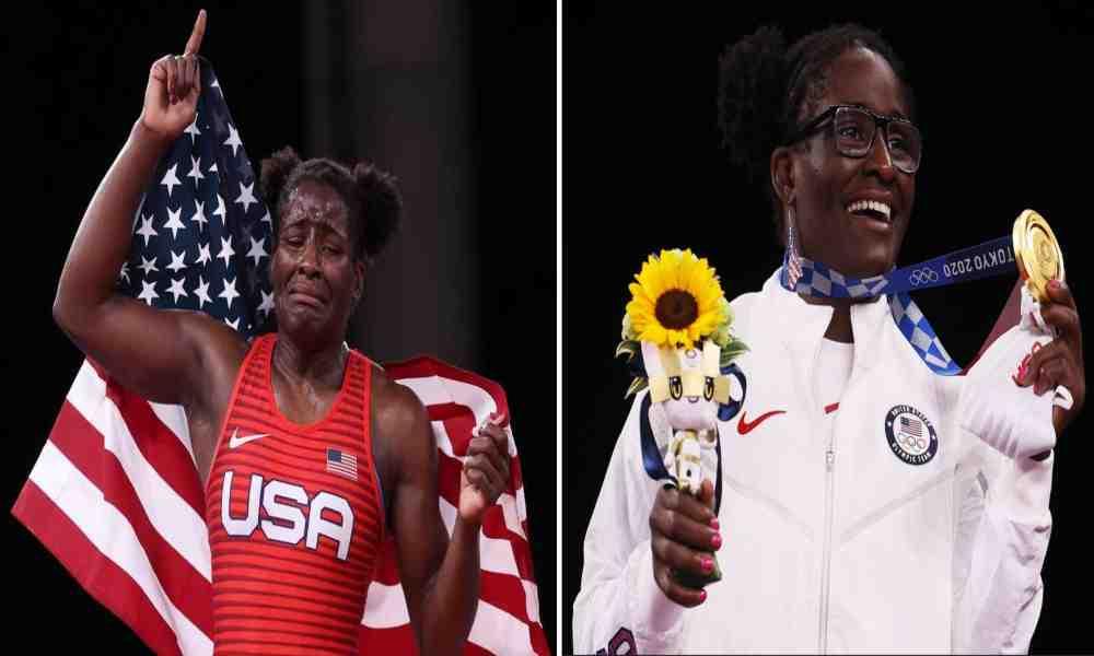 «Es solo por la gracia de Dios», dice luchadora tras ganar el oro olímpico