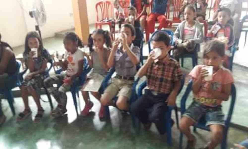 Fundación solicita ayuda para seguir alimentando y evangelizando niños en Venezuela