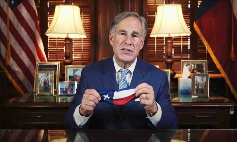 Gobernador de Texas, Greg Abbott, positivo por Covid-19