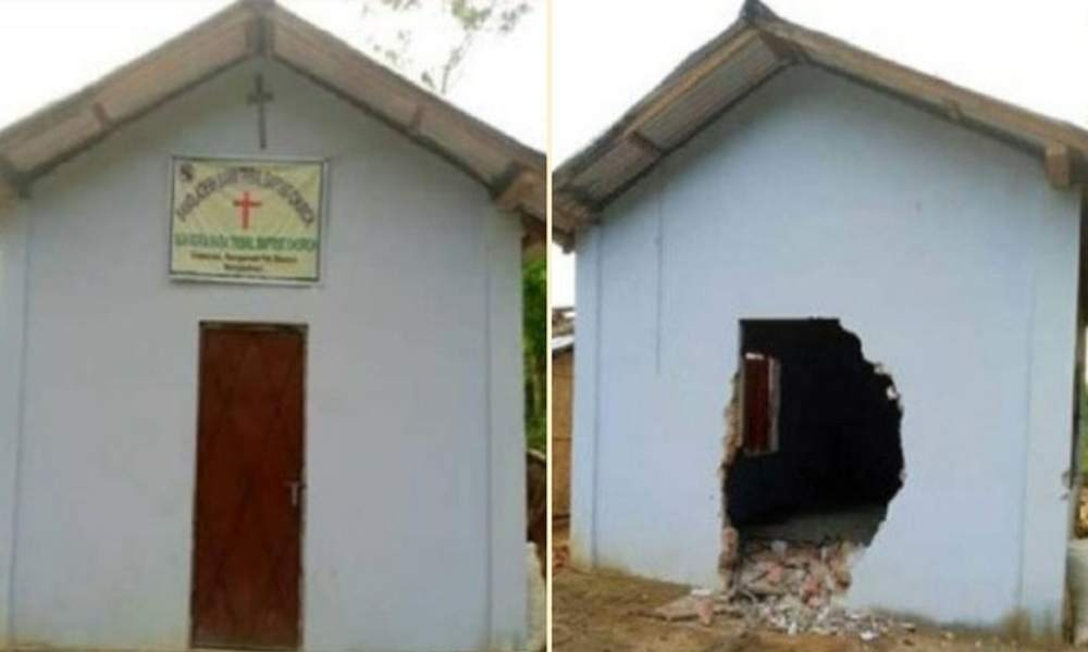 Iglesia en Bangladesh destruida tras dos ataques de budistas radicales