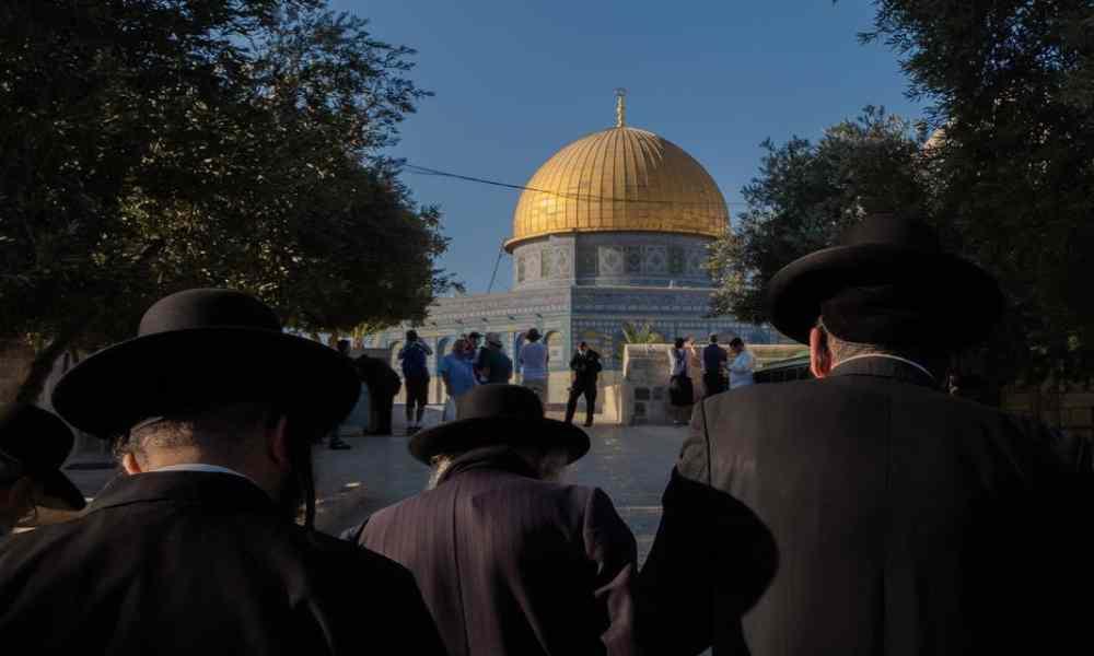 Israel permite por primera vez a judíos orar en Monte del Templo y abre camino al Tercer Templo