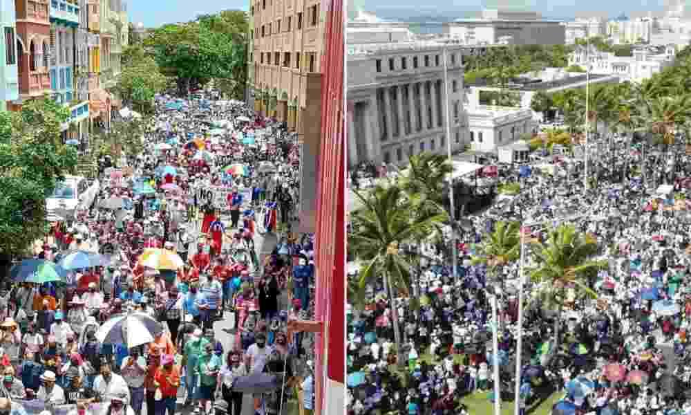 Puerto Rico: Miles marchan para decirle «No» a la ideología de género