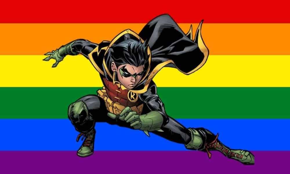 Nueva serie de cómics de DC «Batman: Urban Legends», revela que Robin es bisexual