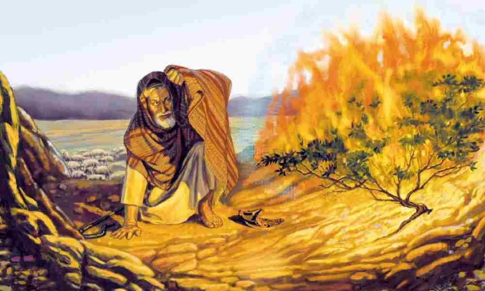 3 lecciones de fe importantes de Moisés y la zarza ardiente