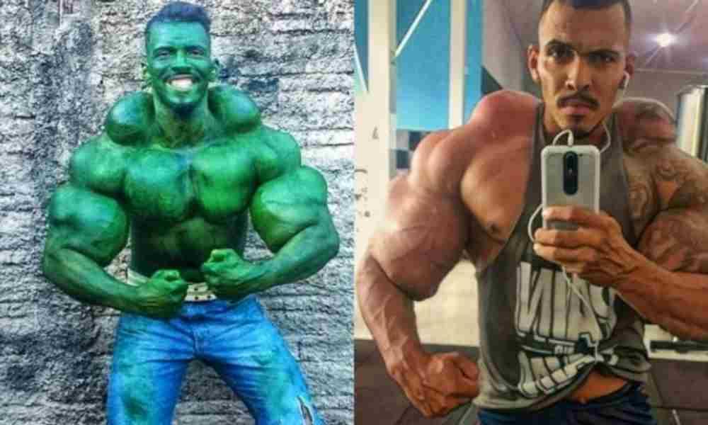 Hombre obsesionado con Hulk se convierte a Cristo
