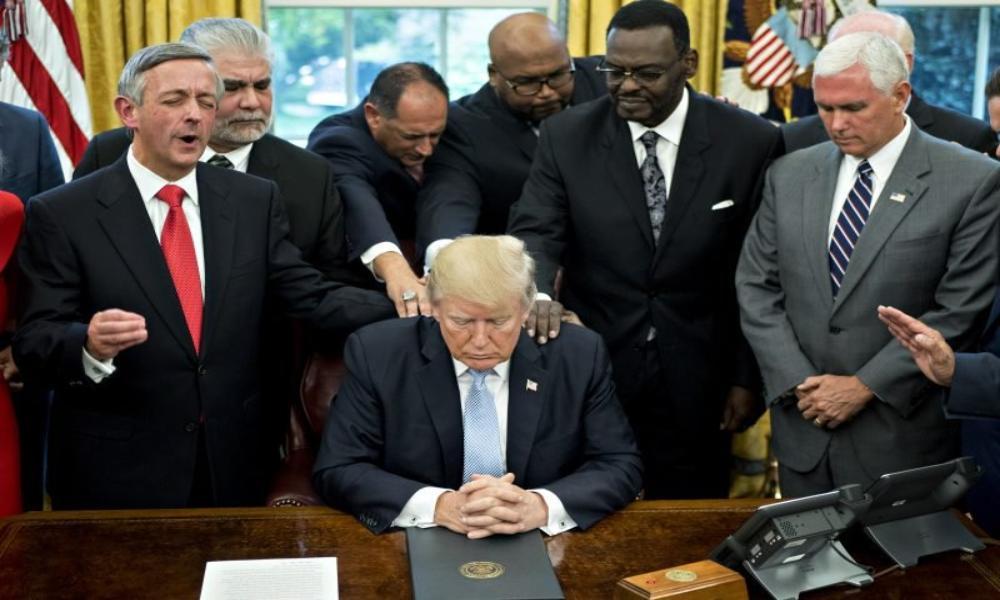 Donald Trump se une a la campaña de Sean Feucht para orar por Estados Unidos