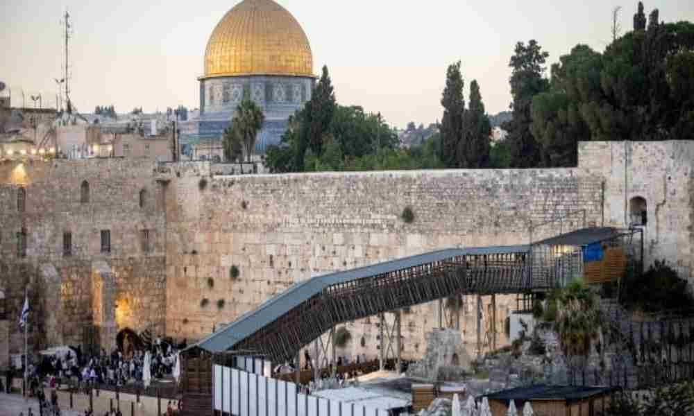 Arranca reconstrucción del único pasaje judío al Monte del Templo