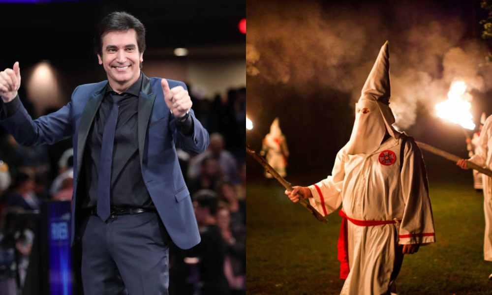 Gebel llama a sus detractores religiosos del Ku Klux Klan moderno