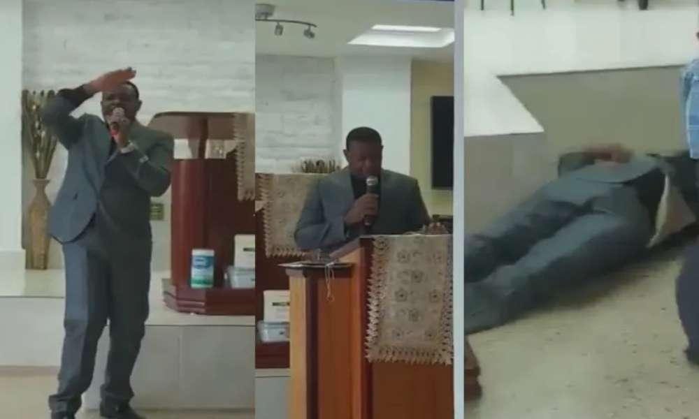 Pastor dominicano muere en el púlpito cuando glorificaba a Dios